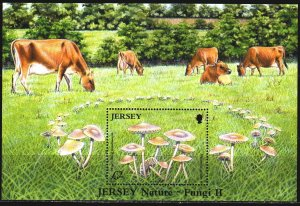 Jersey. 2005. bl 51. Cows, mushrooms. MNH.