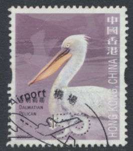 Hong Kong  Birds SG 1413 Dalmation Pelican Used   SC# 1244   see detail and s...