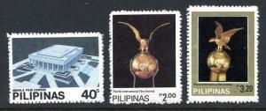 Philippines 1569-1571,MNH.Michel 1449-1451. Film festival,1982.Golden bird.
