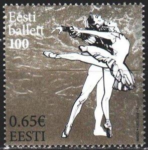 Estonia. 2018. 918. Ballet. MNH.
