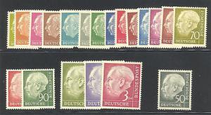 Germany #702-21  Mint VF NH