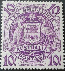 Australia 1949 Ten Shillings SG 224b mint