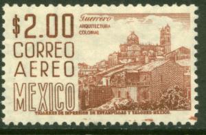 MEXICO C220Hj, $2P 1950 Definitive 2nd Printing wmk 300 MINT, NH. F-VF.