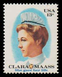 PCBstamps    US #1699 13c Clara Mass, 1976, MNH, (7)