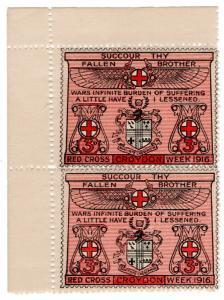 (I.B) Cinderella Collection: Croydon Red Cross Week 3d (1916)