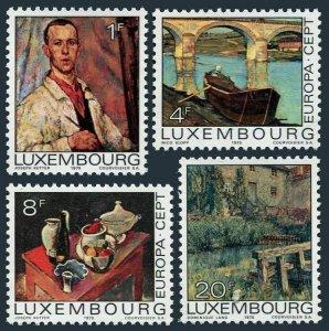 Luxembourg 559-562,MNH.Michel 902-905. EUROPE CEPT-1975.Bridge,Dam.