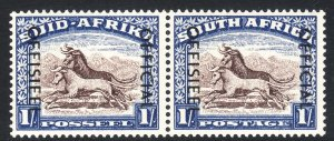 1950-54 South Africa Suid Afrika 1/ official Gnu issue MNH Sc# O49 CV: $175.00