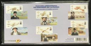 France #3900-3902 MNH S/S Sealed Pack CV€78.00 Aviation Pioneers - Wright