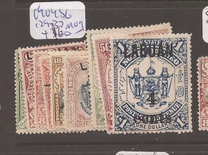 Labuan 1904 SG 129-37 MOG (2ayy)