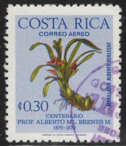 Costa Rica Scott 654 used Airmail stamp