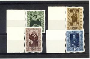 Liechtenstein Scott 266-269 NH    [ID#432286]