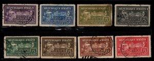 Haiti - #RA1 - RA8  Postal Tax set/8  - Used