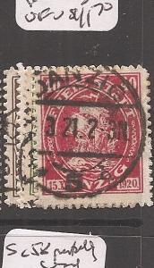 Danzig SC 49-52 postally used VFU (3azk)