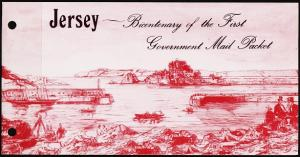Jersey. 1978 Souvenir Pack. Mail Boats. Unmounted Mint