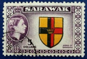 Sarawak Scott # 211 Used (A161)