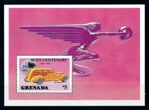 [100240] Grenada 1986 Classic Cars 1941 Packard Souvenir Sheet MNH