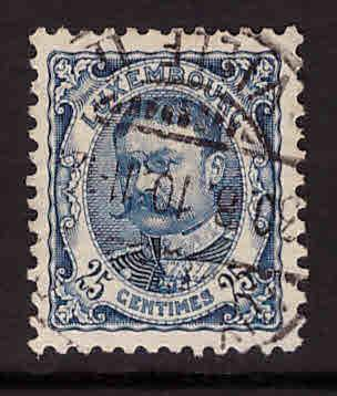 Luxembourg Scott 86 Used stamp