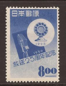 Japan  #  499  Mint