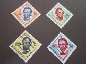 Haiti 1959 Sc B9,CB16-8 set MNH