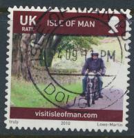 Isle of Man   SG 1574 SC# 1360  Island Life perf 13½ x 13  self adhesive   s...