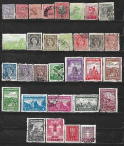 COLLECTION LOT #437 SERBIA 31 STAMPS 1880+ CV+ $28