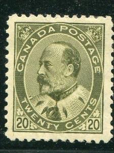 Canada #94  Mint Superb  Cat $1250