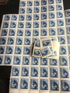 Canada #376 Mint Mostly VF All NH 1958 Geophysical Year (100) Inc. Blocks.