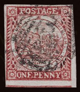 Australia / New South Wales Scott 2c Gibbons 11 Used Stamp