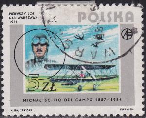 Poland 2644 USED 1984 Polish Aviation