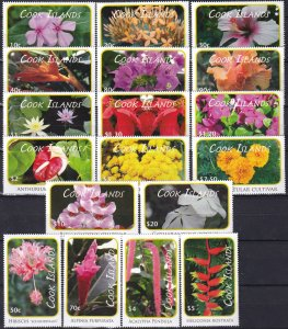 Cook Islands #1305-22  MNH   CV $85.85 (Z1431)