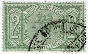 (I.B) QV Revenue : Judicature Fees 2/- (1881)