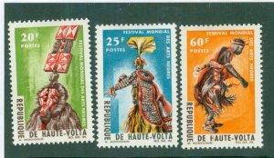 Burkina FAS 162-64 MH BIN$ 2.00