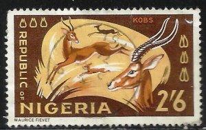 Nigeria 1966 Scott# 194 Used
