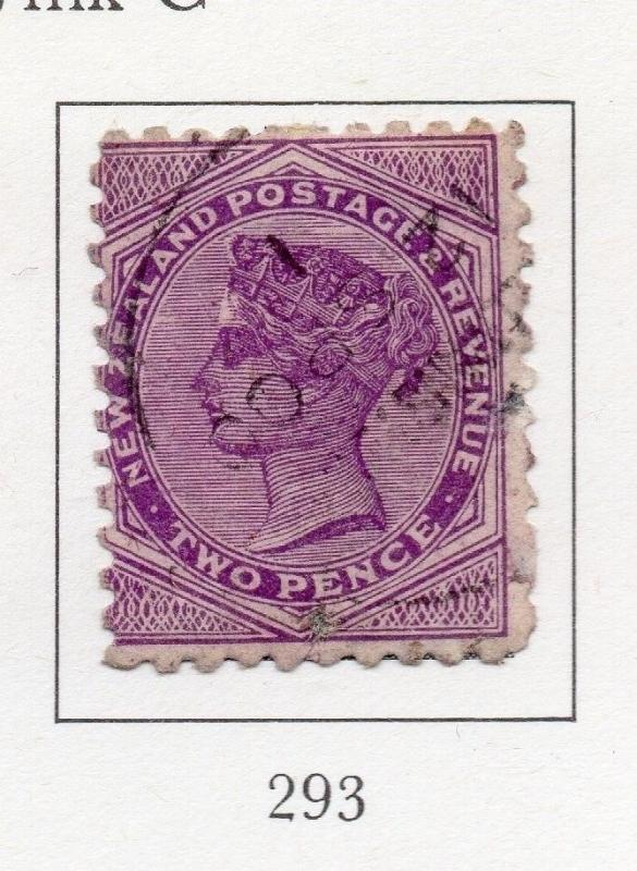 New Zealand 1900 Early Issue Fine Used 2d. 200254