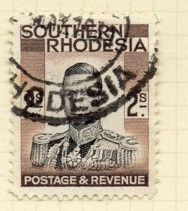 Southern Rhodesia 1937 Early Issue Fine Used 2S. NW-14400