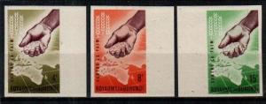 Burundi Scott 42-4 Mint NH imperf (Catalog Value $25.00)
