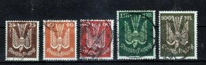 Germany Luftpost used