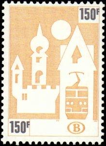 Belgium #Q466-Q470, Complete Set(5), 1987, Never Hinged