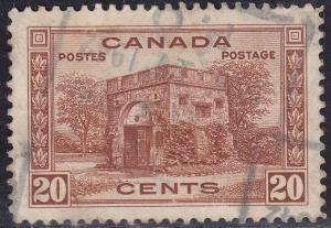 Canada 243 Fort Garry Gate; Winnipeg, Manitoba 1938