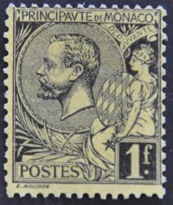 DYNAMITE Stamps: Monaco Scott #26 – UNUSED