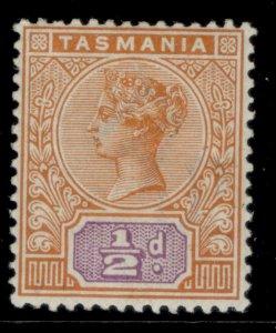 AUSTRALIA - Tasmania QV SG216, ½d orange & mauve, M MINT.