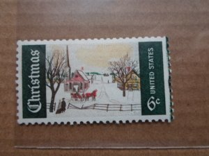 6 CENT STAMP CHRISTMAS SC # 1384