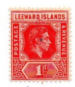 LEEWARD ISLANDS 105b MH SCV $6.75 BIN $1.90 ROYALTY