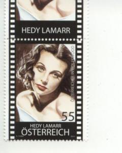 2011 Austria Hedy Lamarr Actress (Scott 2296) MNH
