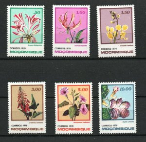 Mozambique  (1978)  - Scott # 592 - 597,    MNH
