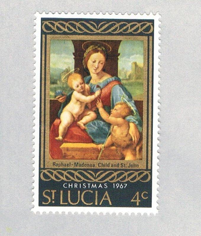 St Lucia Christmas multi 4c (AP126704)