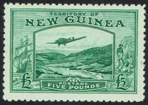 NEW GUINEA 1935 BULOLO AIRMIL 5 POUNDS MNH **