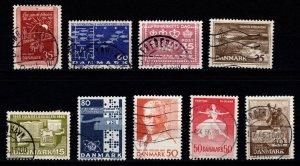 Denmark 1964-65 Commemoratives, Complete Sets [Used]