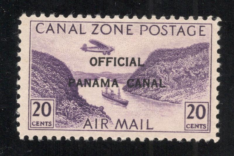 CZ#CO4 Air Post Official - Unused - O.G. (Without Overprint)