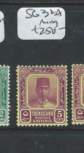 MALAYA TRENGGANU (P0810B) SULTAN  5C  SG 32A   MOG